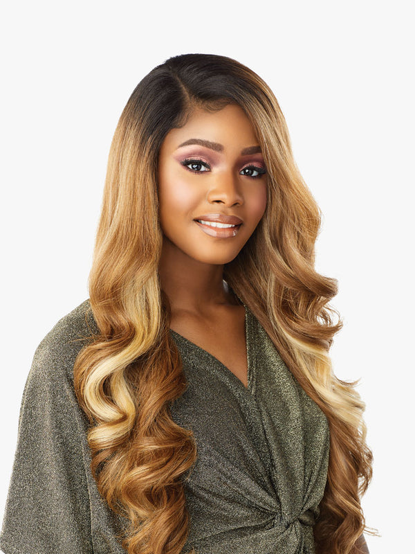 Sensationnel Synthetic HD Lace Front Wig - BUTTA UNIT 7 (MP/BLONDE)