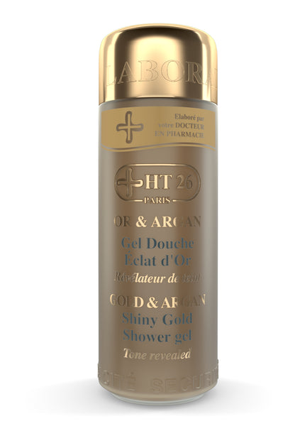 HT26 - Shower gel Gold & Argan - ShanShar