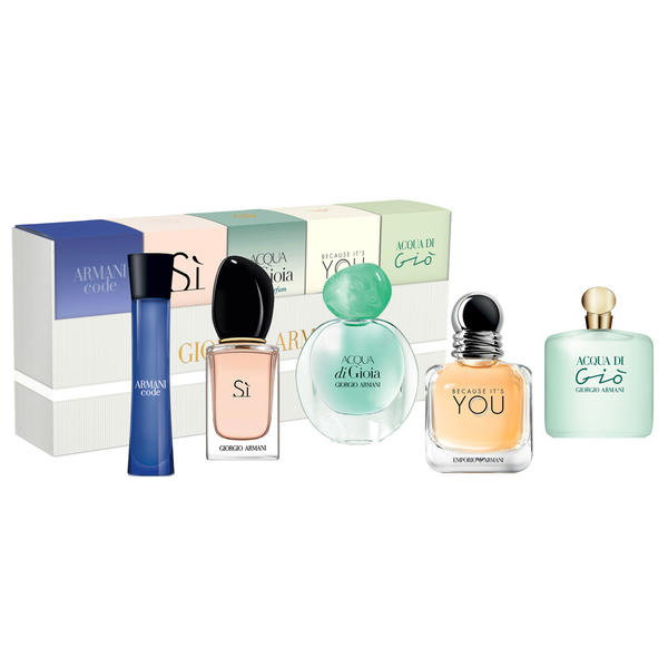 FRAG - GIORGIO ARMANI 5 PCS SET FOR WOMEN