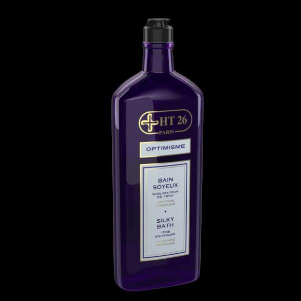Silky Bath/ Optimism Aromatherapy / Purple Violet Scent - ShanShar
