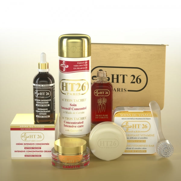 HT26 PARIS - KIT Face & Body Nutrition Performance Gamme Action Taches - ShanShar
