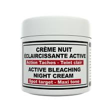 HT26 - Active bleaching night cream /  bleaching face cream - ShanShar