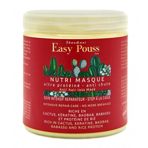 EASY POUSS Nutri Repairing  Mask - Stop Broken Hair - Ultra Protein Hair Mask  250ML