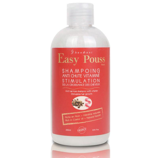 EASY POUSS Vitamin Anti-Hair Loss Shampoo -  Stimulates Hair Regrowth