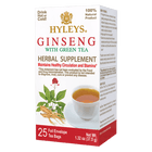 HYLEYS Green Tea with Ginseng -  Maintains Healthy Circulation and Stamina*