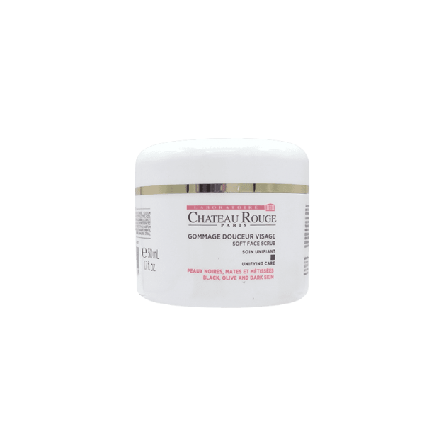 CHATEAU ROUGE SOFT FACIAL SCRUB Unifying Tone & removes dead cells