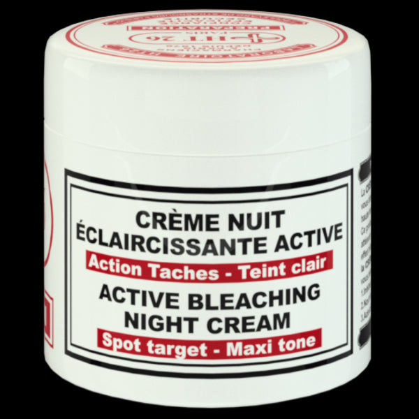 HT26 - Active bleaching night cream /  bleaching face cream