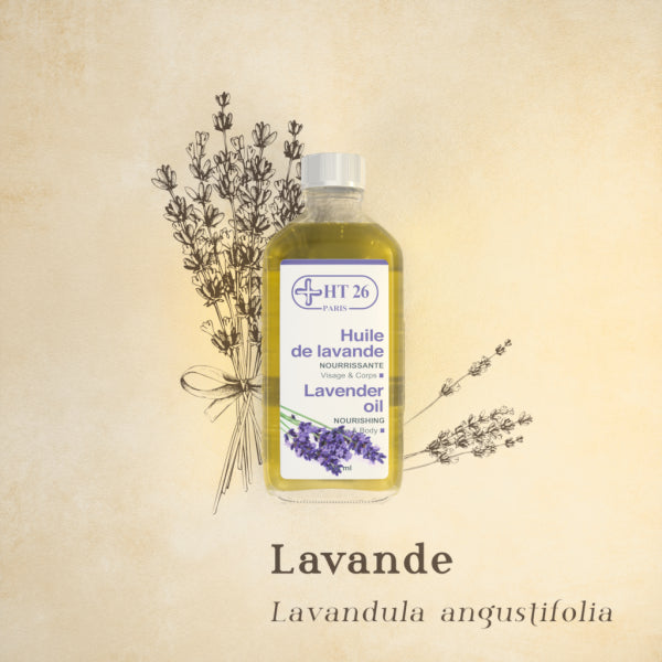 HT26 - Lavender Pure Essential Oil 125 ml - ShanShar