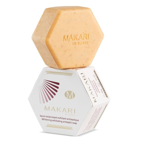 MAKARI - WHITENING / BRIGHTENING EXFOLIATING SOAP - ShanShar