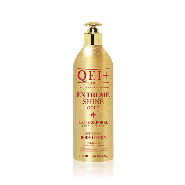 QEI+ PARIS LIGHTENING BODY LOTION - EXTREME SHINE GOLD