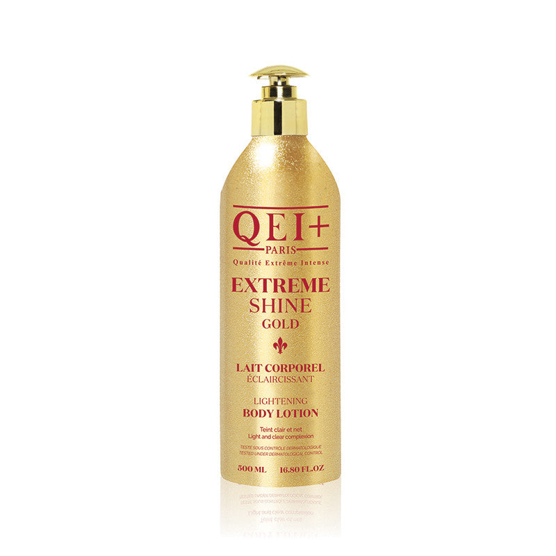 QEI+ EXTREME SHINE GOLD - Lightening Body Lotion