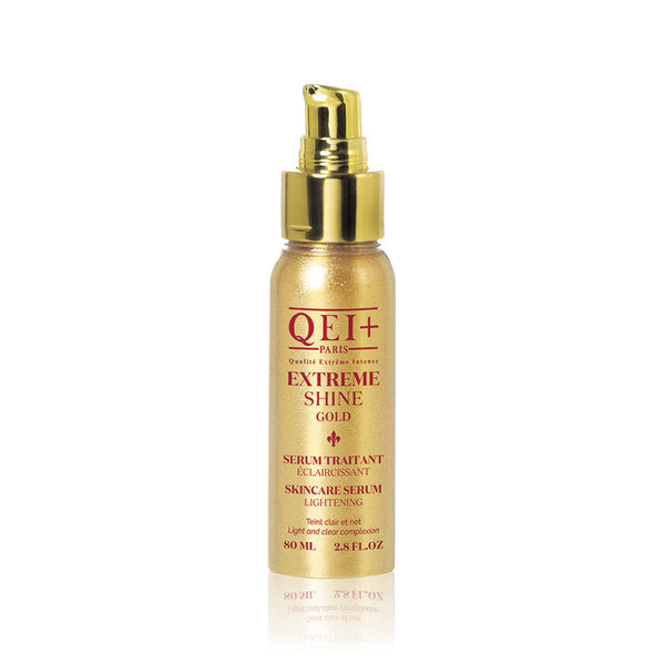 QEI+ EXTREME SHINE GOLD -LIGHTENING SERUM  Light and clear complexion