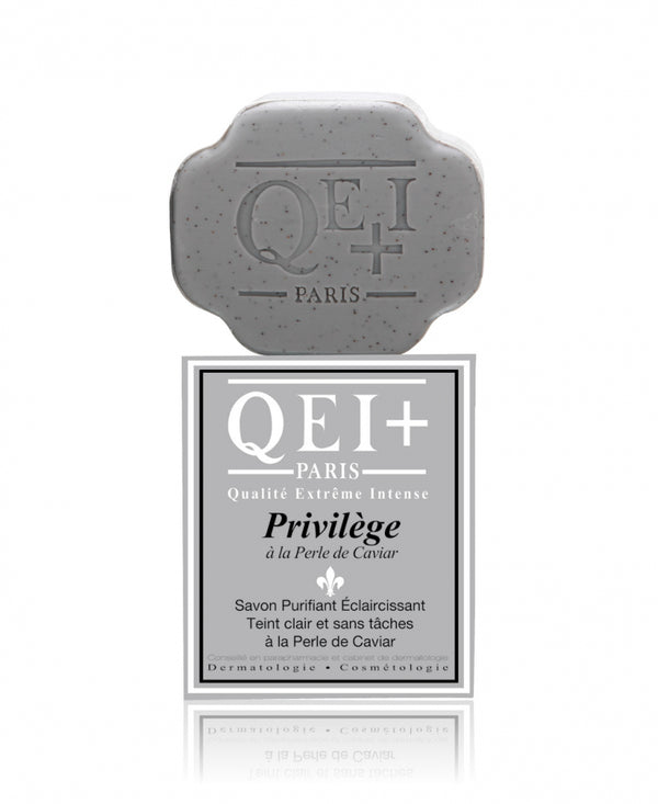 QEI+ Privilege with Caviar Extract Exfoliating Purifying Soap 7 oz