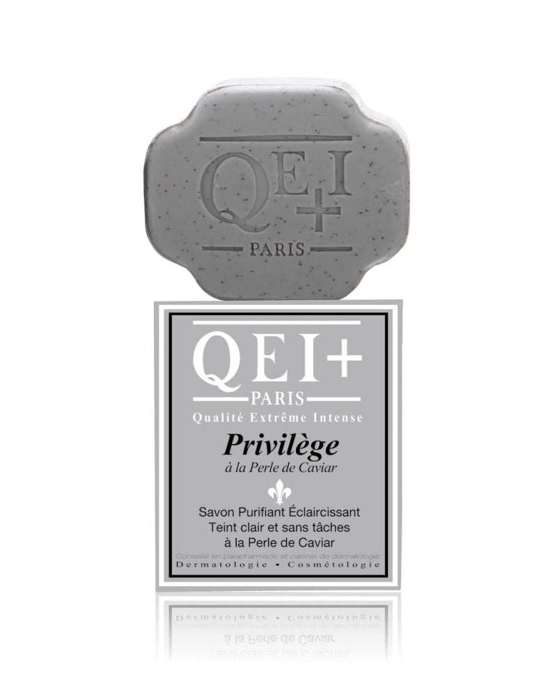 QEI+ Privilege with Caviar Extract Exfoliating Purifying Soap
