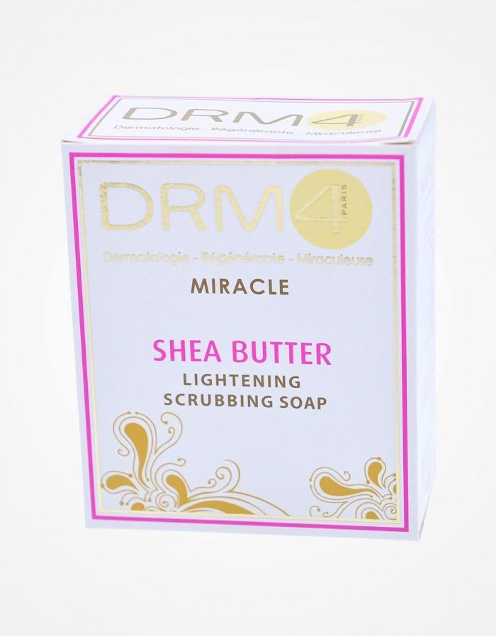DRM4 Miracle Shea Butter Lightening Scrubbing Soap 7 oz
