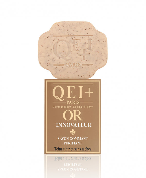 QEI+® OR INNOVATIVE Exfoliating Purifying SOAP.