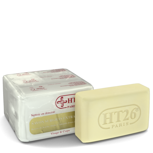 HT26 Paris - Extra Mild Moisturizing Soap - 3 soaps of 250 gr