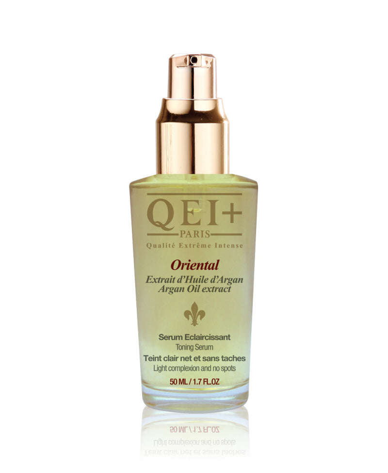 QEI+ Oriental Serum with Argan Oil.