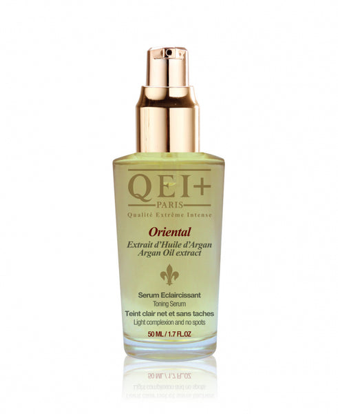 QEI Oriental Serum with Argan Oil.