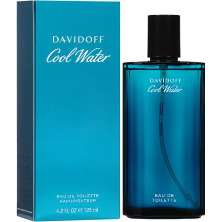 FRAG - Cool Water by Davidoff Fragrance for Men Eau de Toilette Spray 4.2 oz (125mL)
