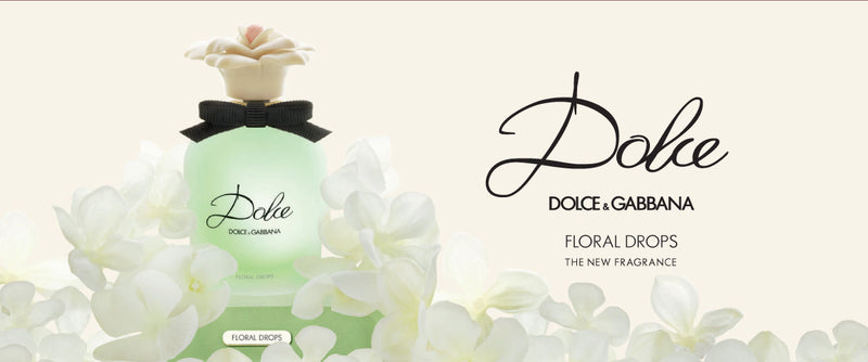 FRAG - Dolce Floral Drops by Dolce & Gabbana Fragrance for Women Eau de Toilette 1.6 oz (50mL)