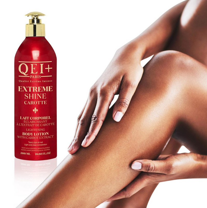 QEI+ Extreme Shine Carotte - Lightening Body Lotion