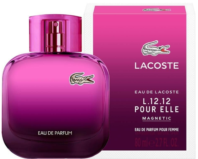 FRAG - L.12.12 Pour Elle Magnetic by Lacoste Fragrance for Women Eau de Parfum Spray 2.7 oz (80mL)