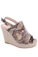 Spring Wedge Shoe