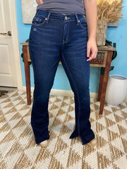 Sexy Mid Rise Flare Jeans