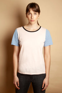 Slim Relaxed Tee Baby Pink