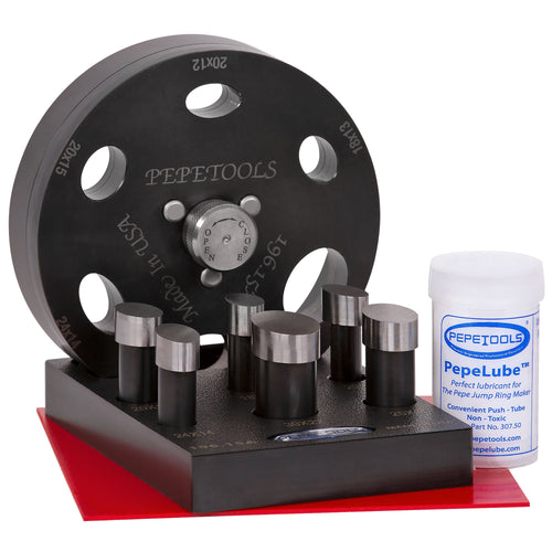 Pepetools - Oval (Cabochon) Disc Cutter with 6 Sizes