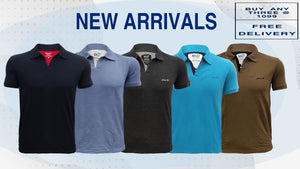 M 27 POLO NECK T-SHIRTS HALF SLEEVES