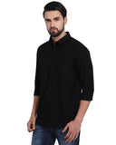 M 27 Casual Shirts  Black Color