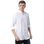 Lenin White Shirt Zoetic Full Sleeves