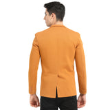 M 27 Casual slim fit Blazer Tan color