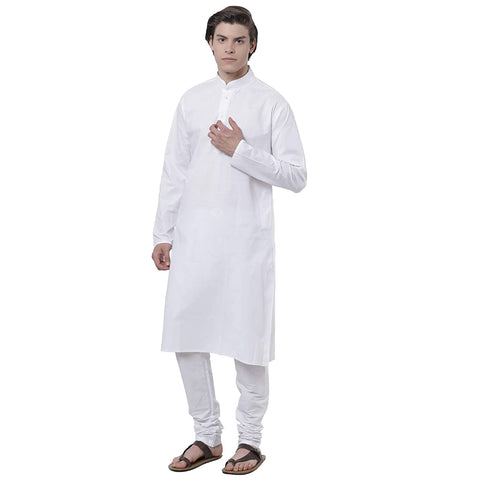 M 27 COTTON PLAIN SAFARI KURTA PYJAMA