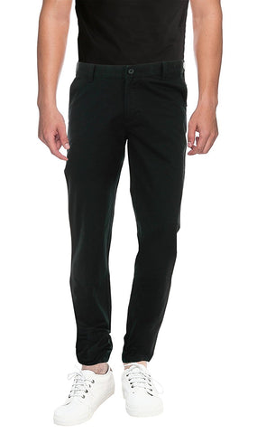 Pan America Men's Slim Fit Casual Trouser