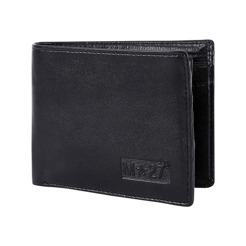 M 27 Mens Leather Wallet traditional black