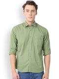 Pan America Men's Casual Shirt Pistachio Color
