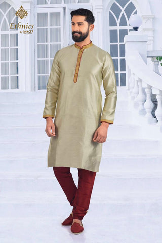 Ethnics by M 27 Printex Kurta Set Flax Color