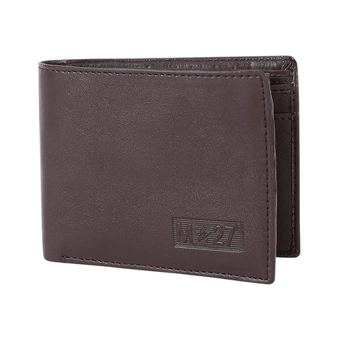 M 27 Mens Leather Wallet traditional brown