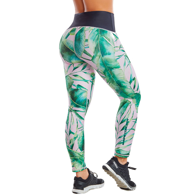 Shape Concept Colombian Workout high Waisted Leggings | Compression Tight Crossfit Yoga Pants Golden SCL017