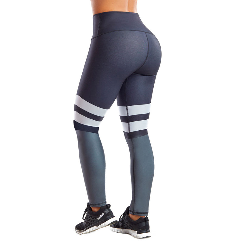 Shape Concept Colombian Workout high Waisted Leggings | Compression Tight Crossfit Yoga Pants Golden SCL023
