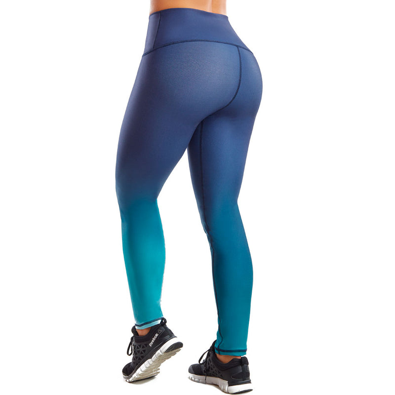 Shape Concept Colombian Workout high Waisted Leggings | Compression Tight Crossfit Yoga Pants Golden SCL024