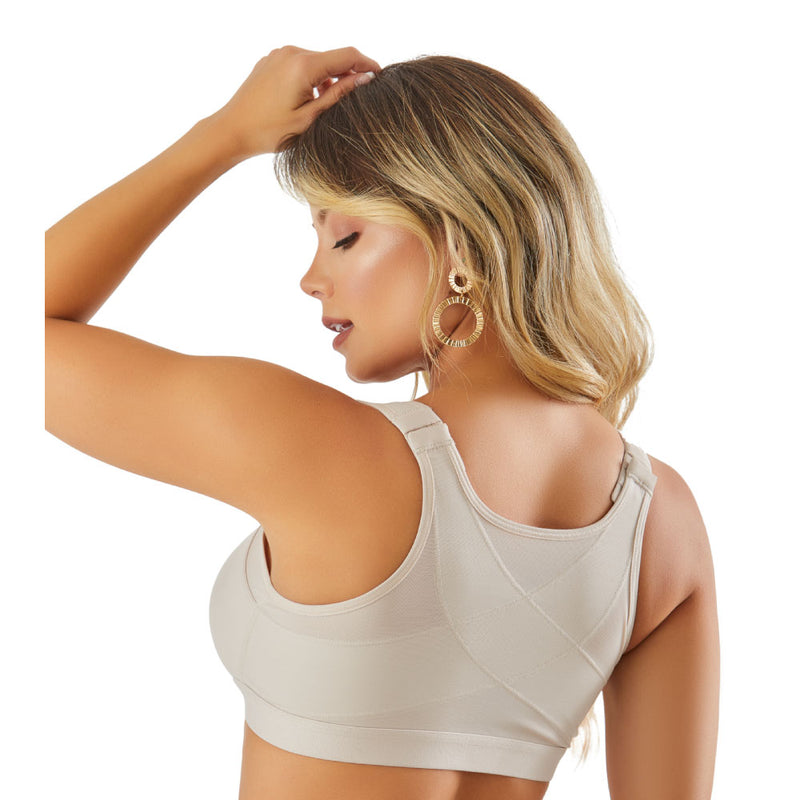 Compression Bra Post Surgery Surgical Posture Bras for Women Brasier Post Operatorio. Posture Corrector SCB003