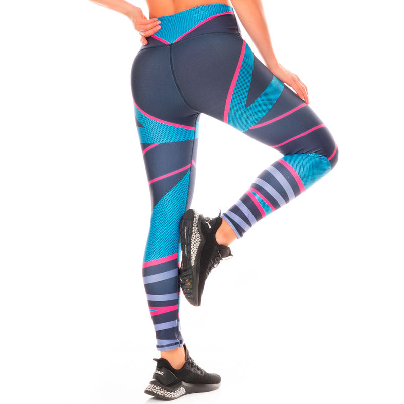 Shape Concept Colombian Workout high Waisted Leggings | Compression Tight Crossfit Yoga Pants Golden SCL033