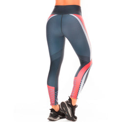 Shape Concept Colombian Workout high Waisted Leggings | Compression Tight Crossfit Yoga Pants Golden SCL036