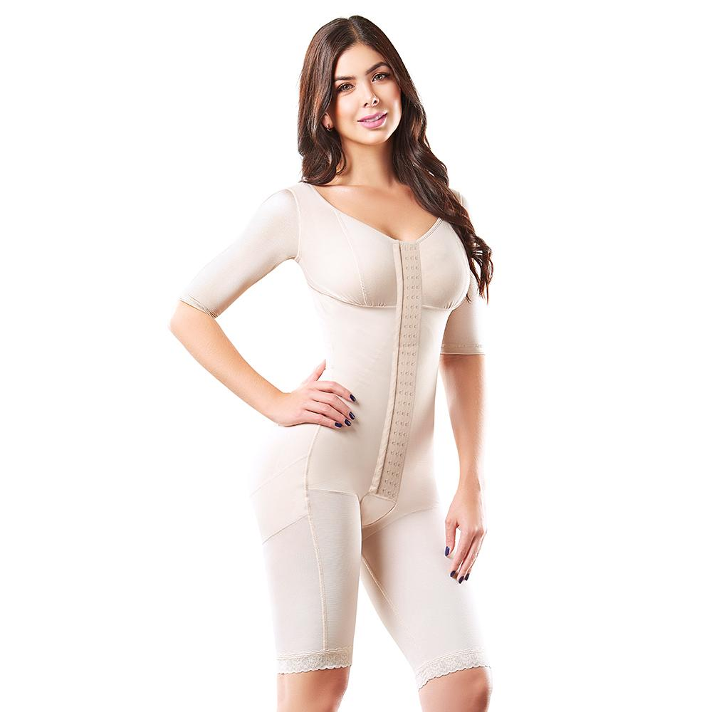 FAJAS COLOMBIANAS REDUCTORA TUMMY TUCK POST SURGERY BODY SHAPER STRAPLESS AS8001