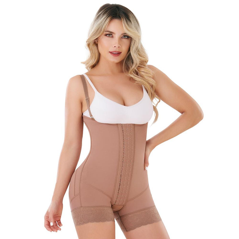 Fajas Colombianas body shaper Fajas Colombianas Reductoras y Moldeadoras High Compression Garments After Liposuction Full Bodysuit SCM0079 - Fajas Colombianas | Colombian Shapewear