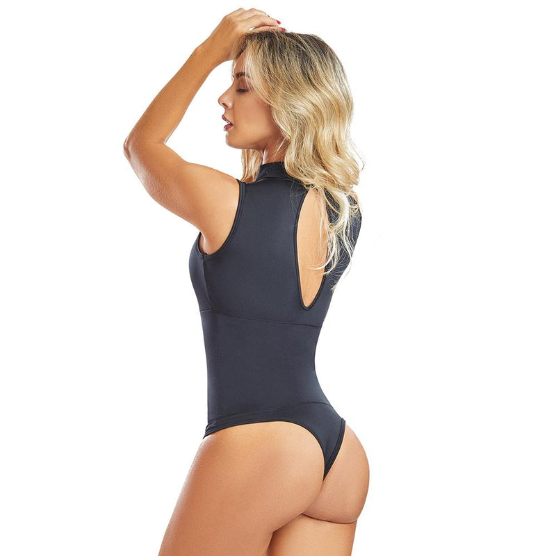 Shape Concept Fajas Colombianas Mid Compression Bodysuits with Internal Powernet Shaper (One Size fits XS-L) 4213-1 - Fajas Colombianas | Colombian Shapewear
